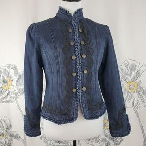 Live a Little Denim Jacket Size S